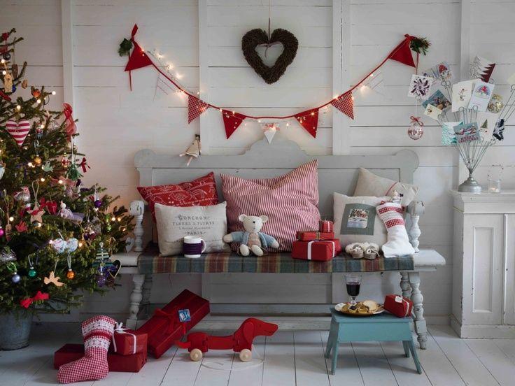 Casinha colorida: Inspiração: arrumando a casa para o Natal