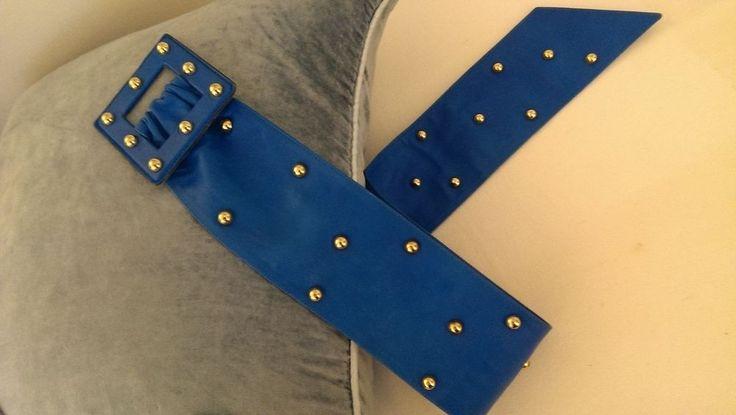 YVES ST LAURENT Studded Belt. Rive Gauche limited edition vintage 1987
