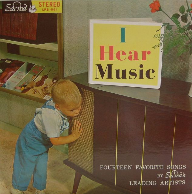 I Hear Music #vintage #vinyl #records