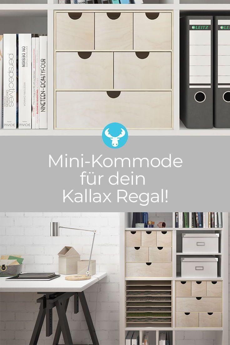 Ikeahack Ikeadiy Kallax Mini Kommode Furs Unsere Mini Kommode Furs Kallax Regal Schafft Platz Fur Krimskrams In 2020 Kallax Ikea Ikea Kallax Shelf Kallax Shelf