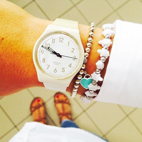 Core White - Swatch | http://www.bijouterieguyserres.com/catalogue/categorie-produit/marques/swatch