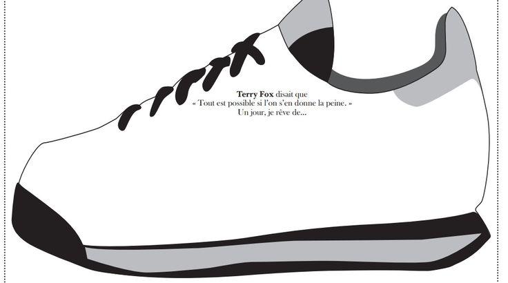 Terry Fox Sneaker Activity