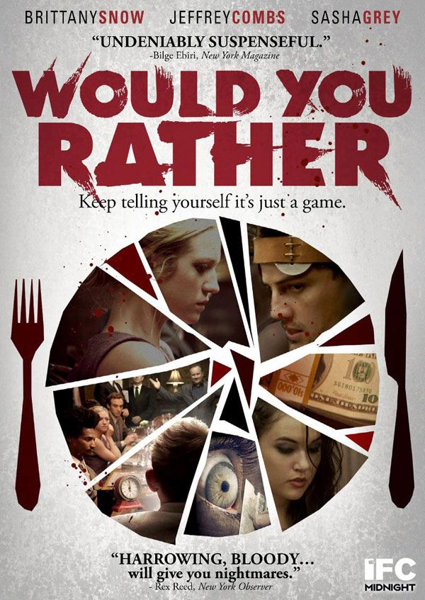 Would You Rather Hits DVD & Blu-ray This July