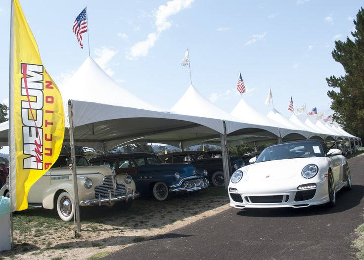 Custom tent rentals for Mecum Auto Auction and The Quail, A Motorsports Gathering in Monterey | Celebrations! Party Rentals and Tents