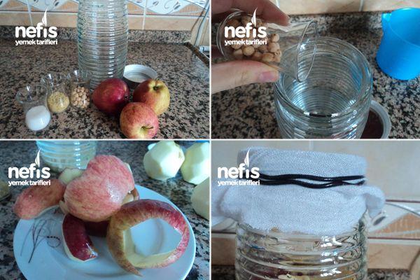 Evde Doğal Elma Sirkesi Yapımı 1