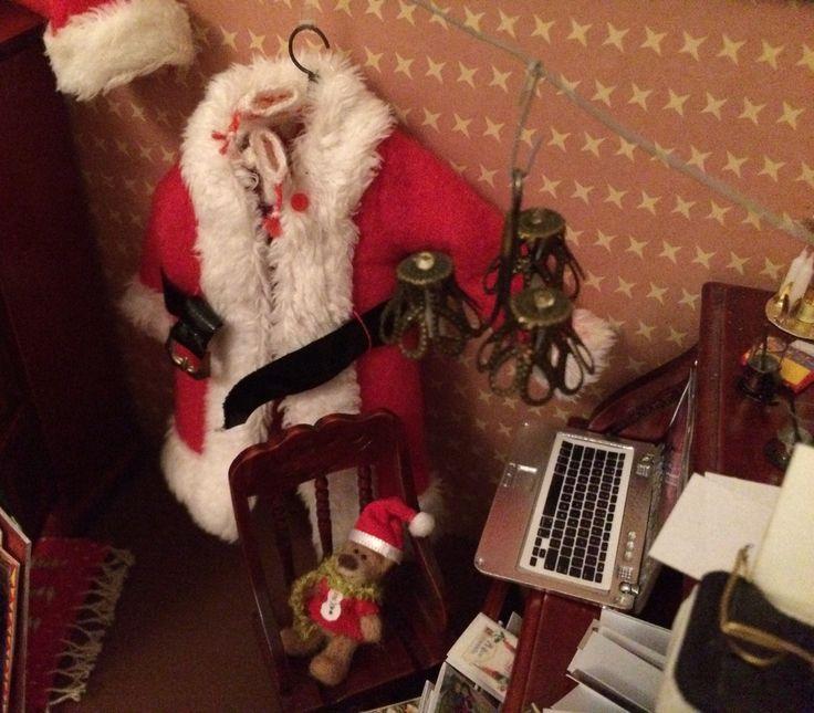 Joulupukin toimiston valaisin 🎅🏻