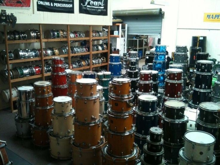Garage sale again this Saturday Ex Hire, Second Hand, Sticks, Heads, Cases, Bags, Hardware, Drums, Snares, Cymbals, Pedals etc etcVintage thru to New  Please ..., 1126637513
