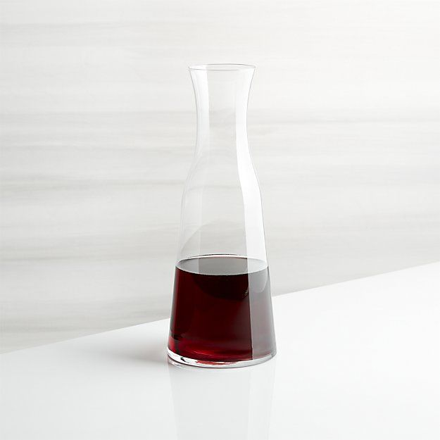 Everyday Wine Carafe | Crate and Barrel
