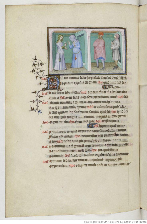 Publius Terentius Afer, Comediae 1400-1407 (Français 301) 63v