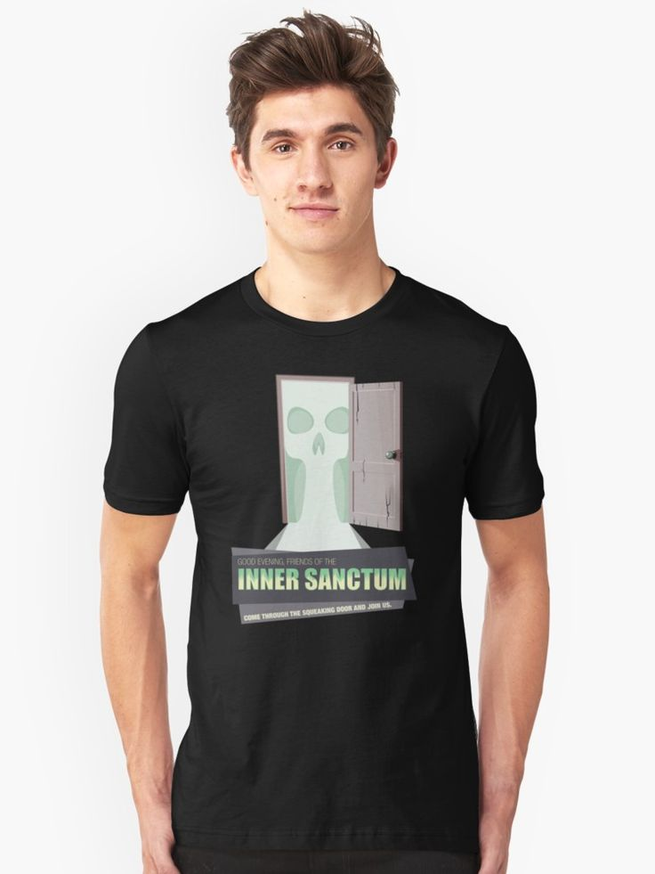 Inner Sanctum T-Shirt #mensfashion #tshirt #mensclothing #clothing #fashion #OTR #oldtimeradio #innersactum #innersanctummysteries #radiodrama #radio