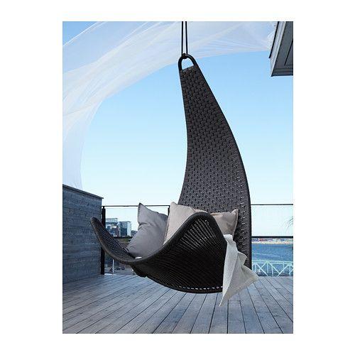 SVINGA Hangstoel IKEA Zachtjes schommelen helpt lichaam en geest te ontspannen.