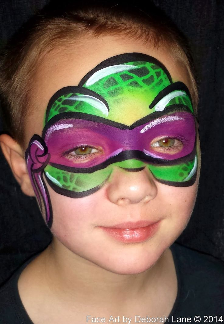 Super Heroes Revisited. | Face Painting by Deborah Lane