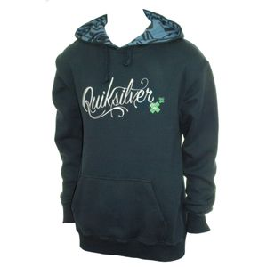 Quiksilver Mens Quiksilver Chalet Hoody. Navy 80% Cotton 20% Polyester Overhead Hoody Large Front Embroidery/Print Small Embroidery On Right Shoulder Detailing Inside Hood http://www.comparestoreprices.co.uk/fashion-clothing/quiksilver-mens-quiksilver-chalet-hoody-navy.asp