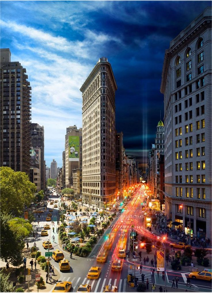 New York from day to night - incredible!