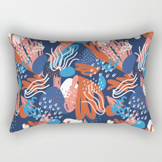 Pattern 02 Rectangular Pillow