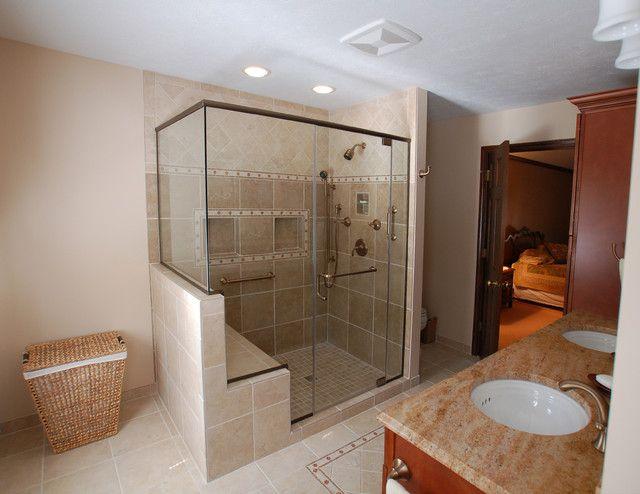 Shower With A Bench - Mobroi.com