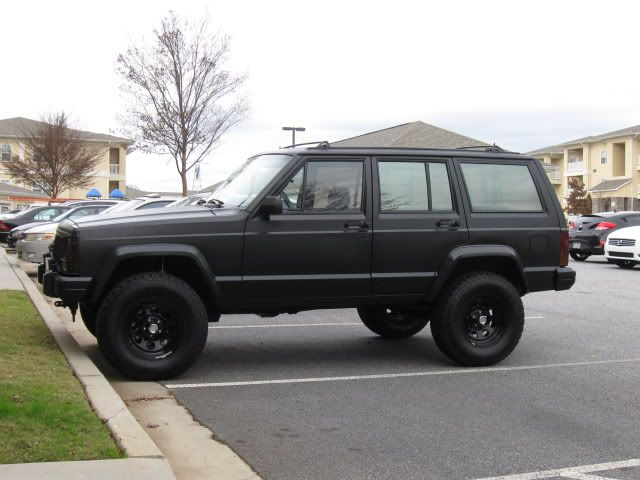 Black Jeep Cherokee >> Matte Black Flat Black Paintjobs Jeepforum Com Jeep Ideas