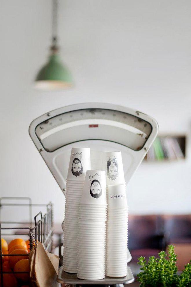 TOMBOY CAFE // Collingwood // Design by Yolk Studio