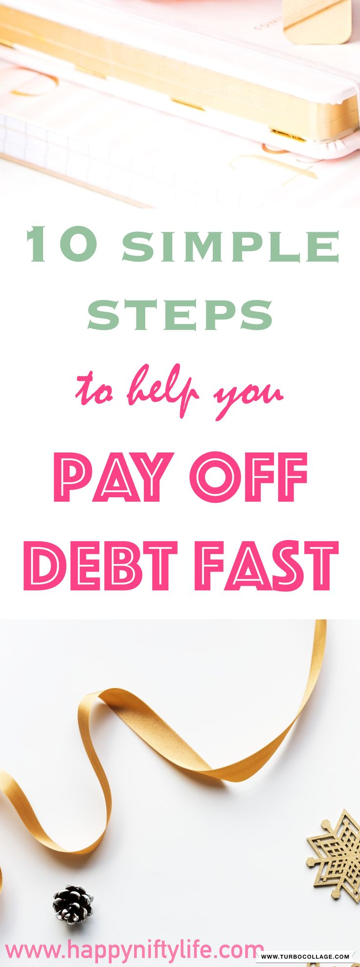 10 simple ways to pay off debt fast. Best ideas and tips for paying off debt quickly and taking back control of your finances. #debtfree #workfromhome #stayathomemom #makemoneyonline #payoffdebt #debt #makemoneyfromhome #makeextramoney #sideincome