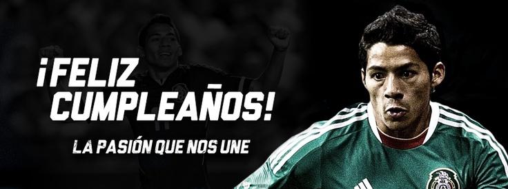¡Feliz cumpleaños Javier Aquino! #soccer #sports #SeleccionMexicana #futbol #Mexico
