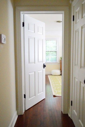 Bon Updating Interior Doors By Installing New Doorknobs | Young House Love