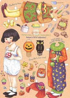 Gracie paper doll by Mary Engelbreight
