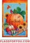 Thanksgiving Harvest Garden Flag