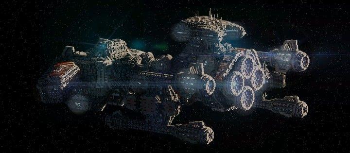 Starcraft 2 Minotaur Battlecruiser