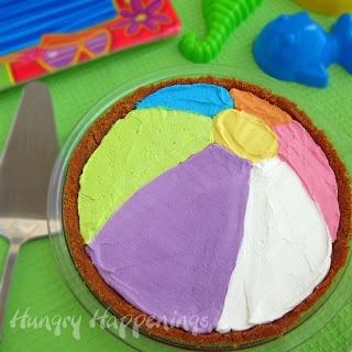 Beach Ball Pie _ #Summer #Party #Foods