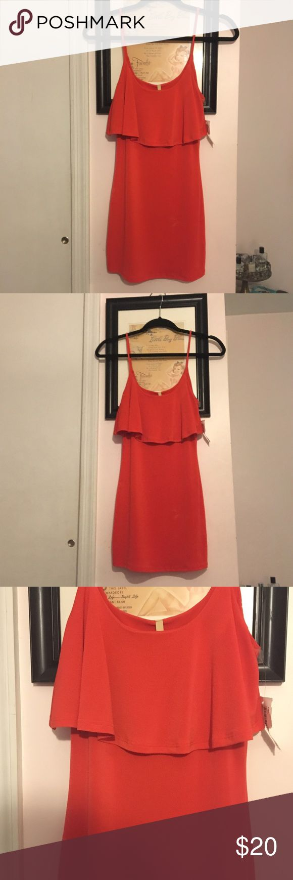 Cute Red dress size small new with tags New with tags red dress from mystic boutique never worn size small mystic boutique Dresses