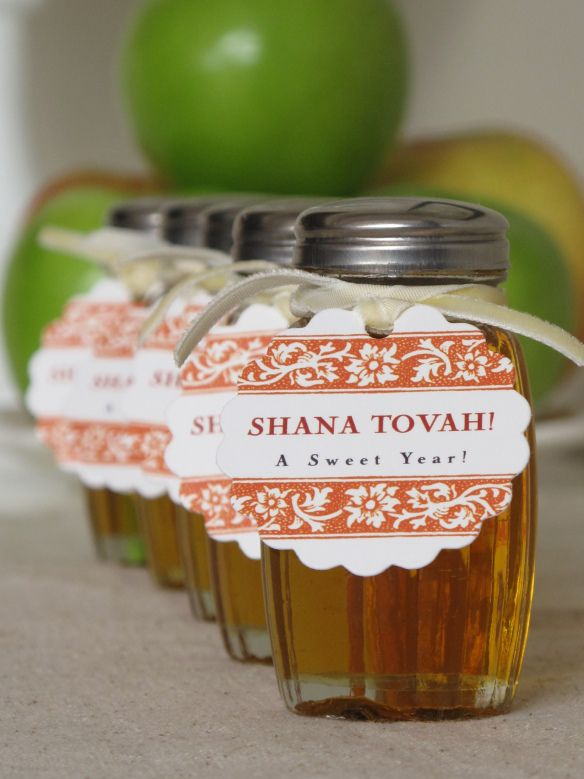 Charming idea for #Rosh Hashanah table from Chana's Art Room. Thanks, Chana!