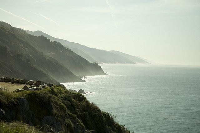 big sur coastline.  big sur, california.: Photo