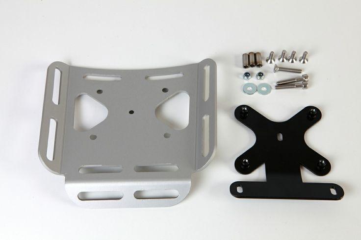 We Hit The Road  The DR650se back rack, aluminium, cnc cut.   HTR.com.pl