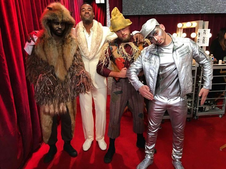Wizard of Oz with Calvin Johnson, Keo Motsepe Dennis Jauch & Alan Bersten
