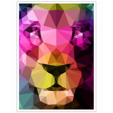 Wild Neon 01a as Art Print by Three Of The Possessed | Art. Everywhere.