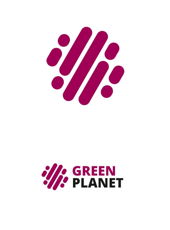 LOGO DESIGN, CORPORATE IDENTITY AND WEBDESIGN FOR GREEN PLANET - In particular, we wanted to avoid green color
