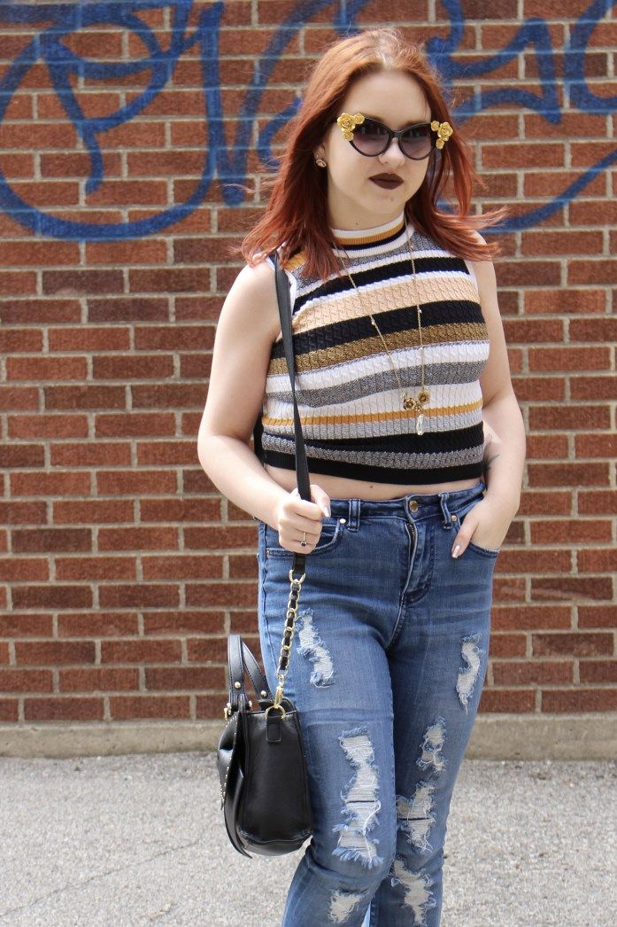 How To Style A Sleeveless Sweater   Only on Five Foot and Fabulous!
