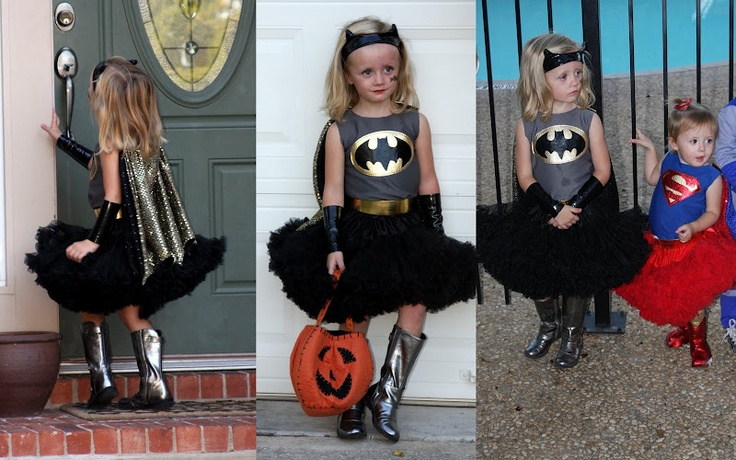 Girl Super Hero Costumes - I don't know if Reese will ever be able to top her Joker costume!