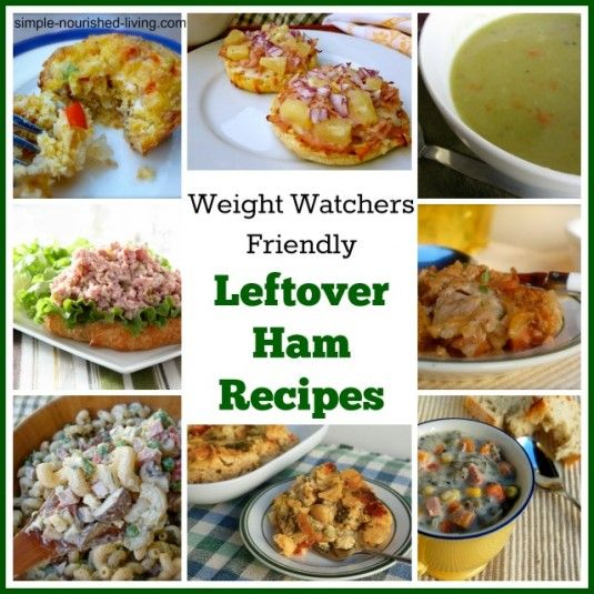 Weight Watchers Friendly Leftover Ham Recipes - Easy Healthy Weight Watchers Recipes with Points Plus