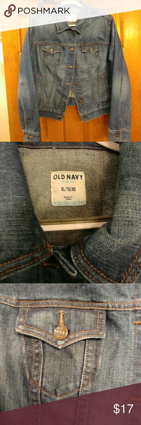 Ladies Old Navy Jean Jacket Size XL Ladies Jean Jacket. Used in great condition. Old Navy. Old Navy Jackets & Coats Jean Jackets