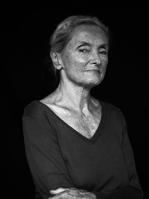 Ernie Mangold, österreichische Schauspielerin. Fotograf: Josef Fischnaller