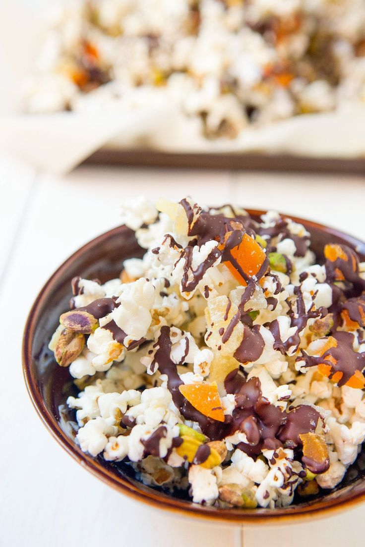 Recipe: Chocolate & Pistachio Popcorn Trail Mix — Recipes from The Kitchn