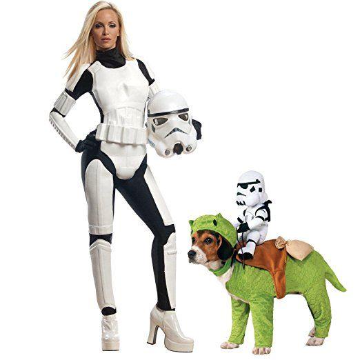 #afflink Star Wars Adult Female Stormtrooper Small Costume Bundle Set