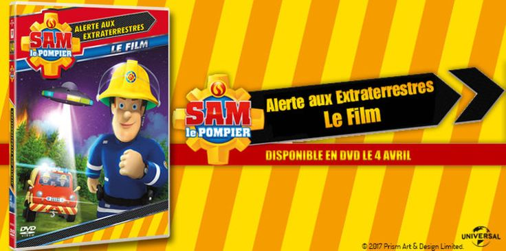 40 DVD SAM LE POMPIER : ALERTE EXTRATERRESTRES, à gagner