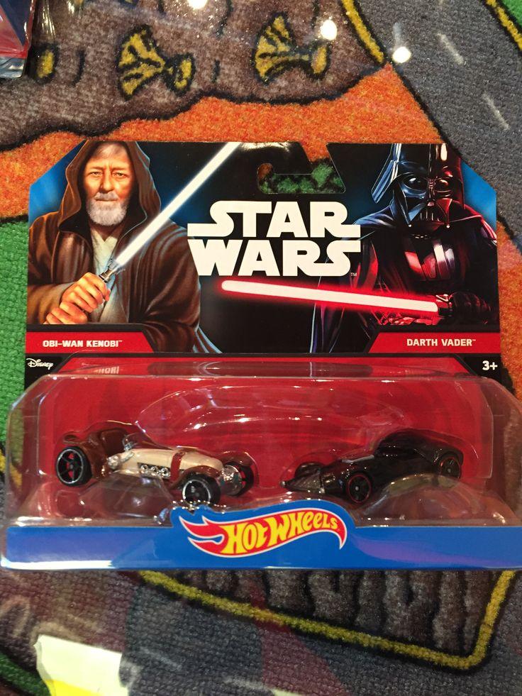 Hot wheels Star wars, Obi-Wan Kenobi et Darth Vader, 12.99$. Disponible dans la boutique St-Sauveur (Laurentides) Boîte à Surprises, ou en ligne sur www.laboiteasurprisesdenicolas.ca sur notre catalogue de jouets en ligne, Livraison possible dans tout le Québec($) 450-240-0007 info@laboiteasurprisesdenicolas.ca