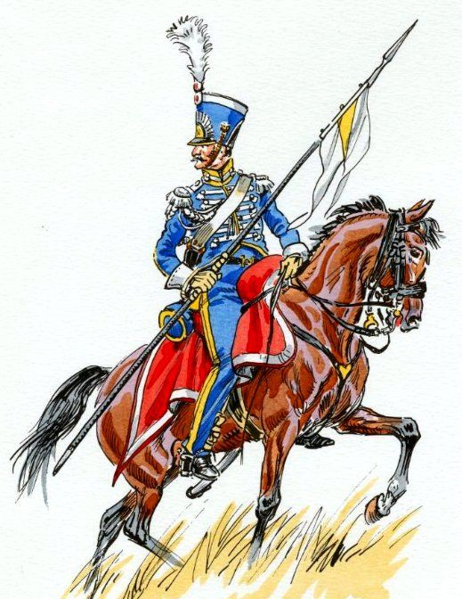 Naples Royal Guard Lanciers 1812