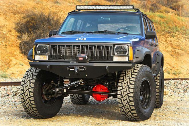 We Swap Currie Rockjock 44 Axles Under A Jeep Xj Cherokee With