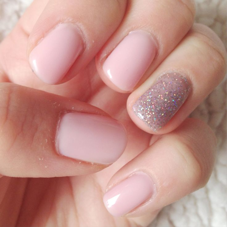 Cuccio Veneer - I Left My Heart In San Francisco with OPI Gel - My Voice Is A Little Norse