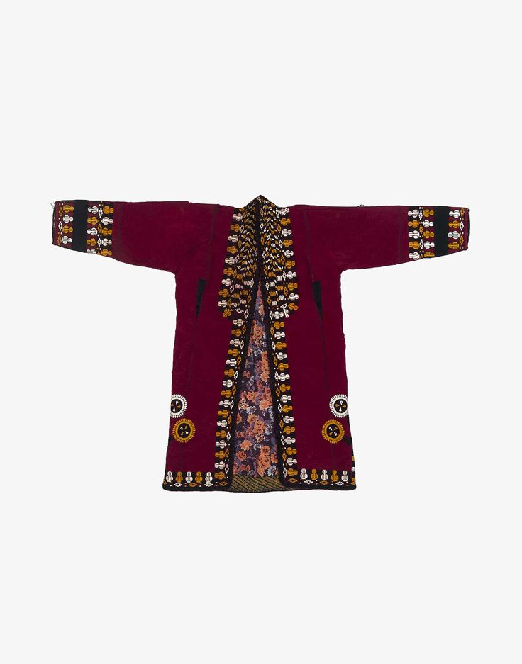 Discover Central Asian Turcoman Silk And Cotton Kaftan Robe and a whole world of some of the most priceless & exotic goods of human invention, all at Kichy.