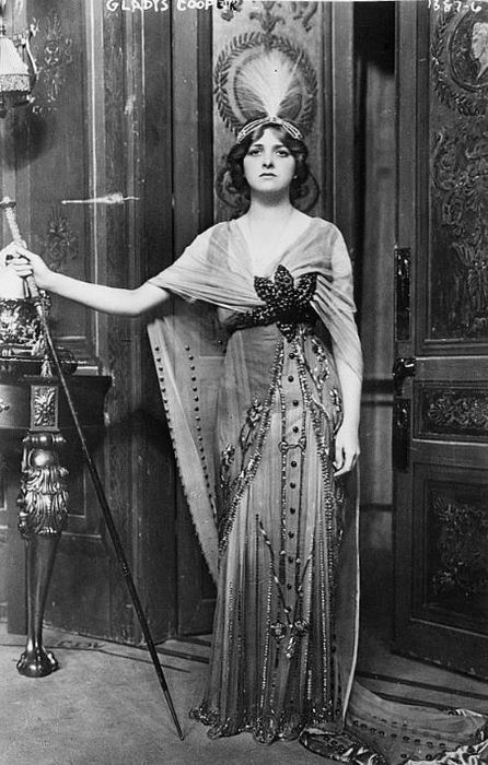 Miss Gladys Cooper.Cooper 18881971, Fashion, Costumes, Vintage Ephemera, Dresses Style, Gladys Cooper, Vintage Photography, The Dresses, Dame Gladys